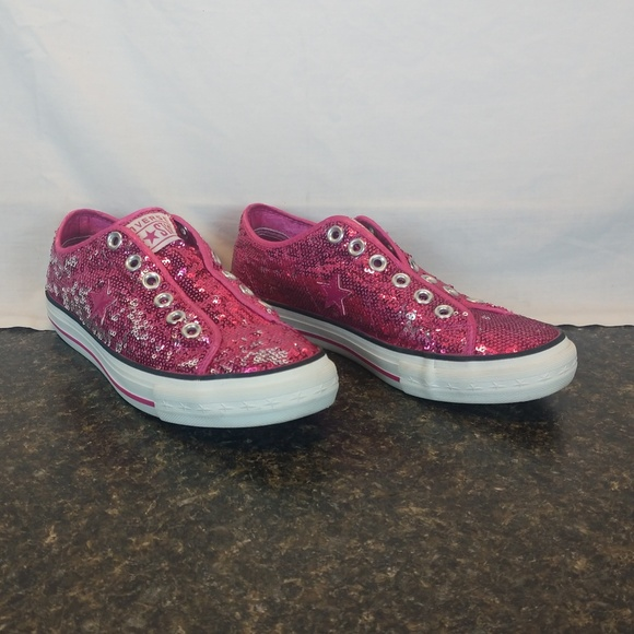 bd5c646ed187cc Converse Shoes - Converse One Star Pink Glitter Women s Size 7